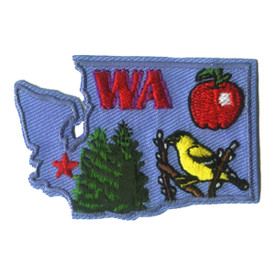 S-1601 Washington State Patch