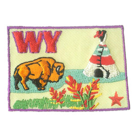 S-1603 Wyoming State Patch