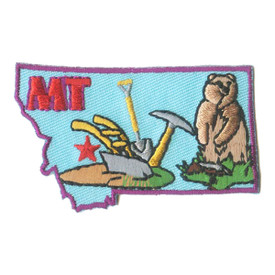 S-1604 Montana State Patch
