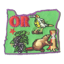 S-1605 Oregon State Patch