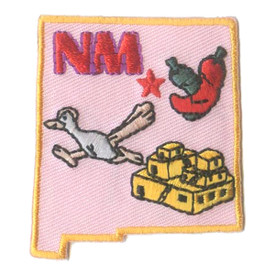 S-1606 New Mexico State Patch