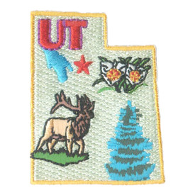 S-1607 Utah State Patch