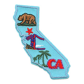 S-1609 California State Patch
