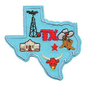 S-1612 Texas State Patch