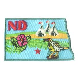 S-1613 North Dakota State Patch
