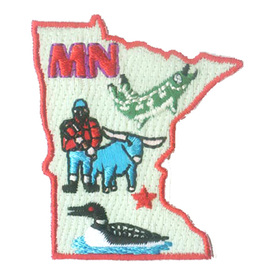 S-1615 Minnesota State Patch