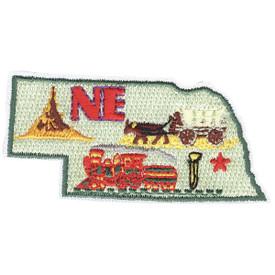 S-1616 Nebraska State Patch
