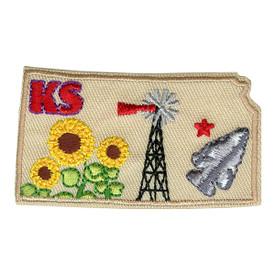 S-1619 Kansas State Patch