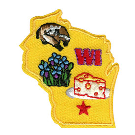 S-1623 Wisconsin State Patch