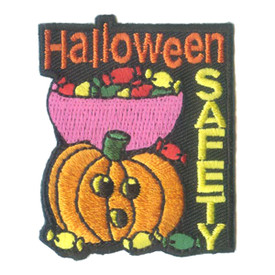 S-1652 Halloween Safety Patch