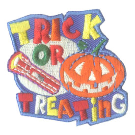 S-1655 Trick Or Treating Patch
