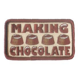 S-1665 Chocolate Making Patch
