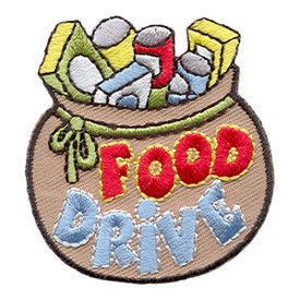 S-1668 Food Drive Patch