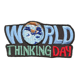 S-1673 World Thinking Day Patch