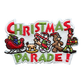S-1675 Christmas Parade Patch