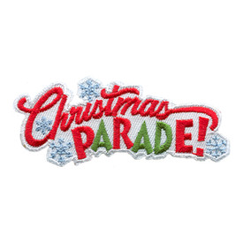 S-1676 Christmas Parade! Patch