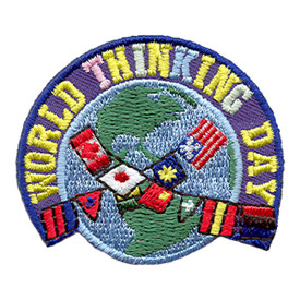 S-1677 World Thinking Day Patch