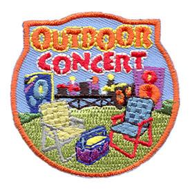 S-1679 Outdoor Concert Patch