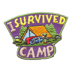 S-1689 I Survived Camp Patch