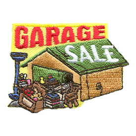 S-1699 Garage Sale Patch