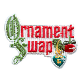 S-1703 Ornament Swap Patch