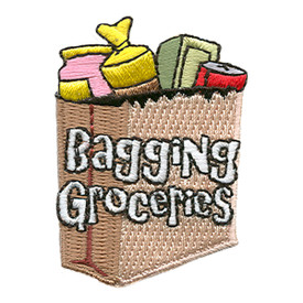 S-1704 Bagging Groceries Patch