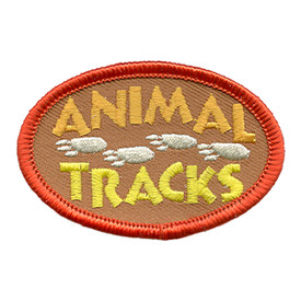 S-1709 Animal Tracks Patch