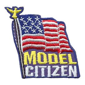 S-1710 Model Citizen Patch