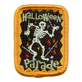S-1711 Halloween Parade Patch