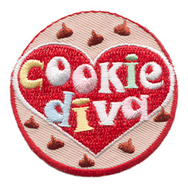 S-1729 Cookie Diva Patch