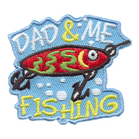 S-1730 Dad & Me Fishing Patch