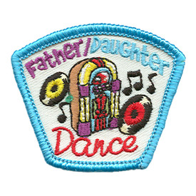 S-1736 Father/Daughter Dance Patch
