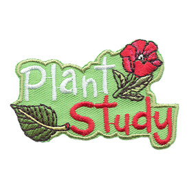 S-1737 Plant Study Patch