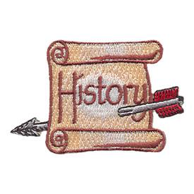 S-1740 History (Scroll & Arrow) Patch