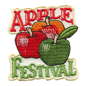 S-1745 Apple Festival Patch