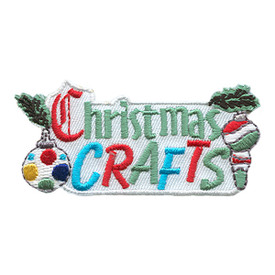 S-1753 Christmas Crafts Patch