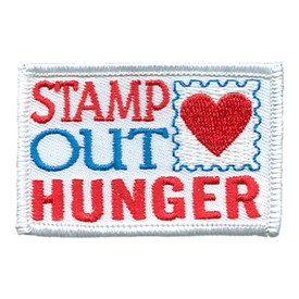 S-1759 Stamp Out Hunger Patch