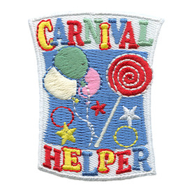 S-1761 Carnival Helper Patch