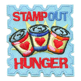 S-1762 Stamp Out Hunger Patch