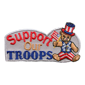 S-1770 Support Our Troops Patch