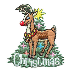 S-1779 Christmas (Rudolph) Patch