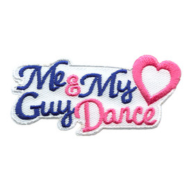 S-1783 Me & My Guy Dance Patch
