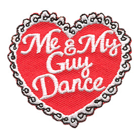 S-1787 Me & My Guy Dance Patch