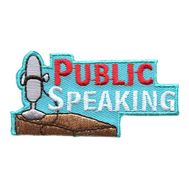 S-1788 Public Speaking Patch