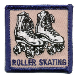 S-0013 Roller Skating Patch