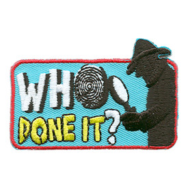 S-1545 Who Done It? Patch