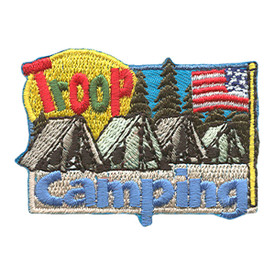 S-1818 Troop Camping Patch