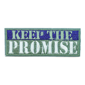 S-1820 Keep The Promise Patch