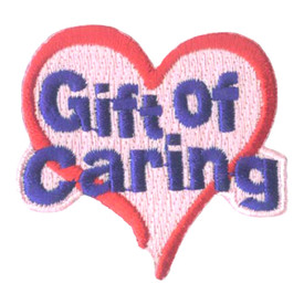 S-1824 Gift Of Caring Patch