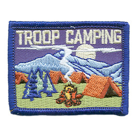 S-1830 Troop Camping Patch
